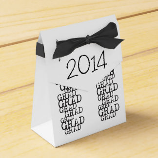 Graduation Favor Gift Box - Class of 2014 Party Favor Box