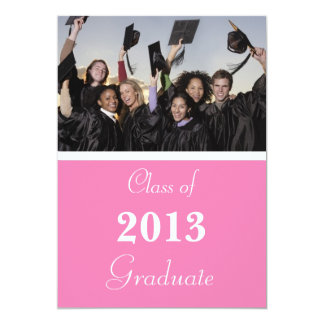 "Graduation Invitation 2014 5"" X 7"" Invitation Card"