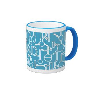 Graduation Mug Science Lab light blue