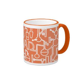 Graduation Mug Science Lab Orange