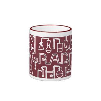 Graduation Mug Science Lab red