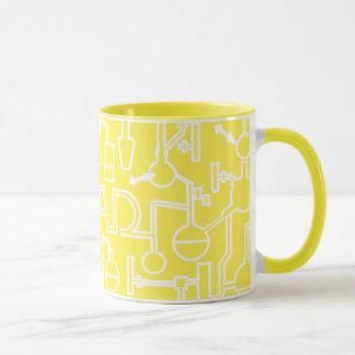Graduation Mug Science Lab yellow
