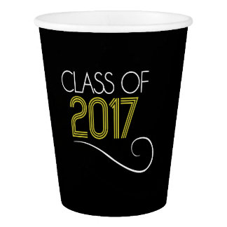Graduation Party Cups - 2017