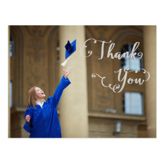 Graduation Script - Thank You Postcard