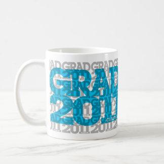 Graduations Class Of 2011 Mug Blue Orange