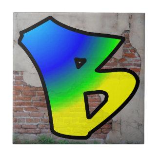 GRAFFITI #1 B TILES