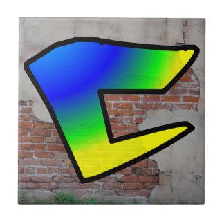 GRAFFITI #1 C TILE