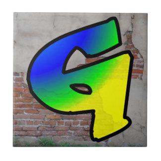 GRAFFITI #1 G CERAMIC TILE