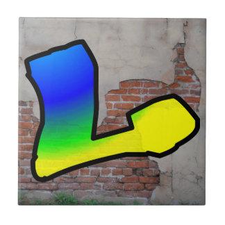 GRAFFITI #1 L CERAMIC TILE