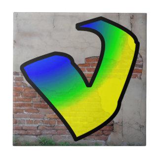 GRAFFITI #1 V TILE