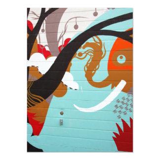 Graffiti Art Custom Announcement