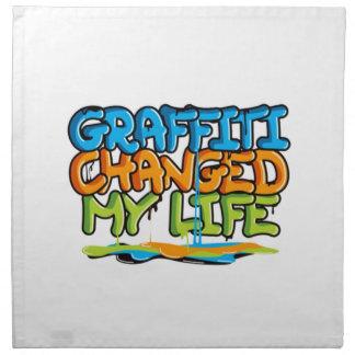 Graffiti Changed My Life Napkin