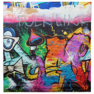 graffiti Colors Art Painting Napkin