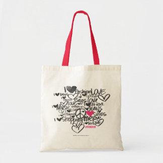 Graffiti Magenta Tote Bag