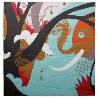 Graffiti Napkin