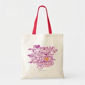 Graffiti Orange/Purple Tote Bag
