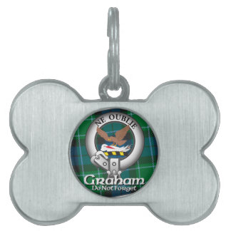 Graham Clan Pet ID Tag