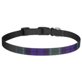 Graham clan Plaid Scottish tartan Pet Collar