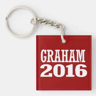 Graham - Gwen Graham 2016 Double-Sided Square Acrylic Key Ring
