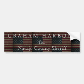 Graham Harbold for Navajo County Sheriff Bumper Sticker