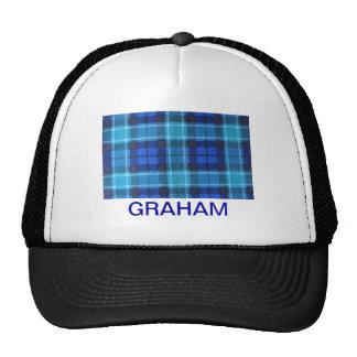 GRAHAM SCOTTISH FAMILY TARTAN CAP