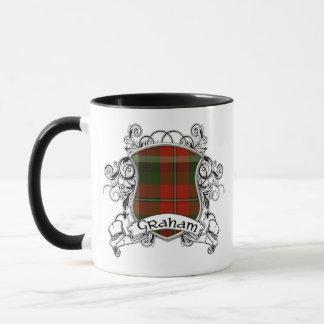Graham Tartan Shield Mug