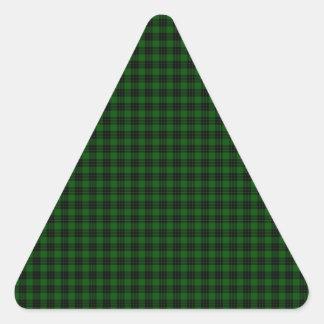 Graham Tartan Triangle Sticker