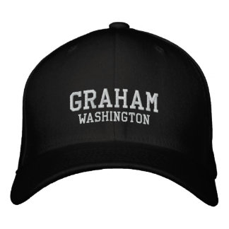 Graham Washington Embroidered Hat