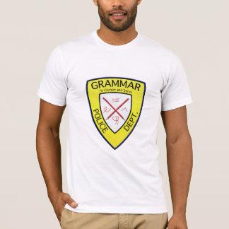 Grammar Police Department t-shirt