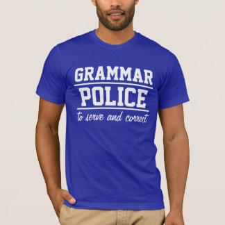 Grammar Police Men's T-Shirt