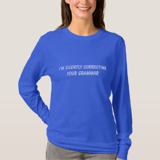 Grammar Police shirt