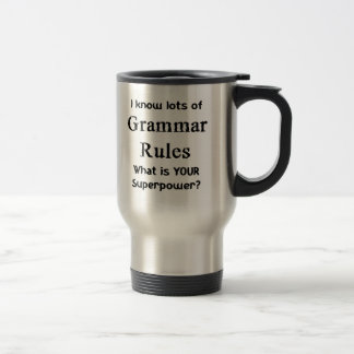 grammar rules travel mug