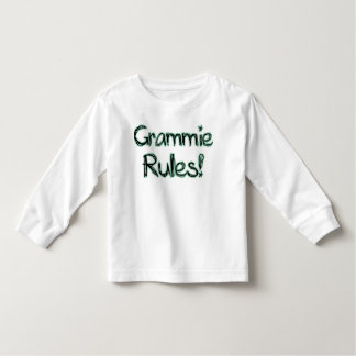 Grammie Rules! Toddler T-Shirt