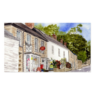 Grampound Post Office Business Card
