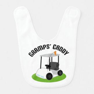 Gramp's Caddy Golfing Baby Infant Bib