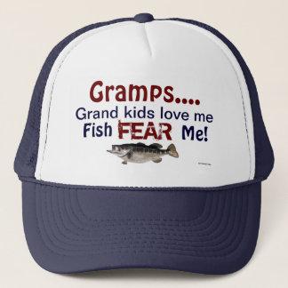 Gramps...Grand Kids Love Me Fish Fear Me Hat