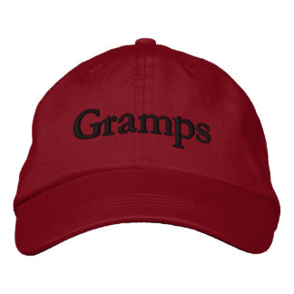 Gramps Personalized Embroidered Baseball Cap / Hat