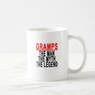 Gramps The Man The Myth The Legend Tshirt.png Coffee Mug