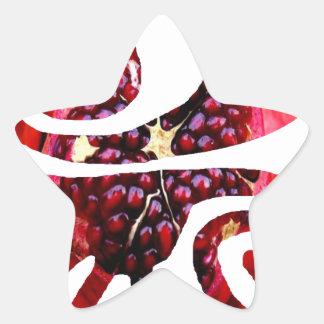 GRANATE, LOVE, PEACE, LUCK, WWW.DRCHOS.COM,CURIOS STAR STICKER