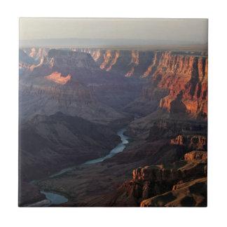 Grand Canyon and Colorado River in Arizona Tile