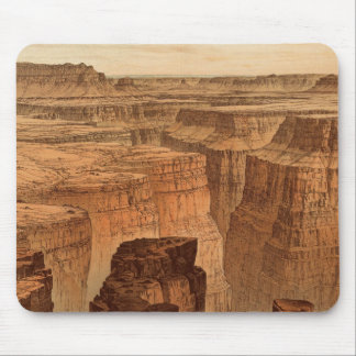 Grand Canyon at the foot of the Toroweap Mouse Pad