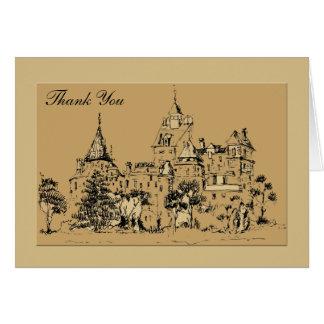 Grand Chateau Thank You Notecard