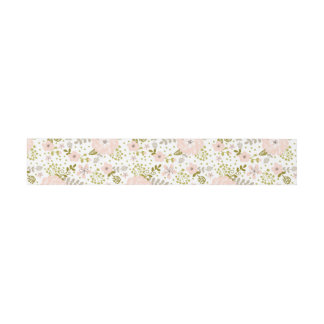 GRAND FLORAL BELLY BAND INVITATION BELLY BAND