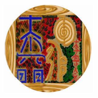 Grand Master - ReikiHealingArt Photo Sculpture Badge