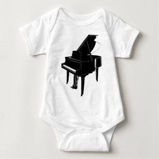 Grand Piano Baby Bodysuit