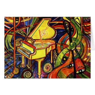 Grand Piano Card