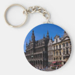 Grand Place, Brussels, Belgium Key Chain