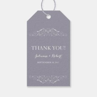 "Grand Soiree | Wedding ""Thank You"" favour tag"