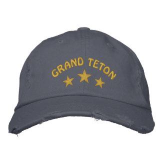 Grand Teton National Park Embroidered Baseball Caps