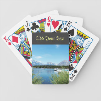 Grand Teton National Park landscape photography. Bicycle Playing Cards